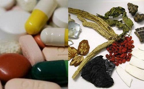 Các vị thuốc nam, thuốc bắc có tác dụng chữa bệnh như thuốc tây (Ảnh minh họa)