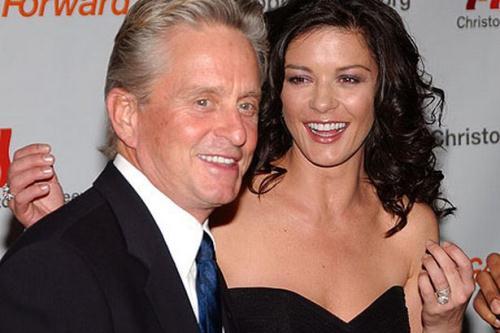 Vợ chồng Michael Douglas và Catherine Zeta-Jones