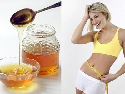 Mật ong - nước - chanh là hỗn hợp giảm cân hiệu quả.