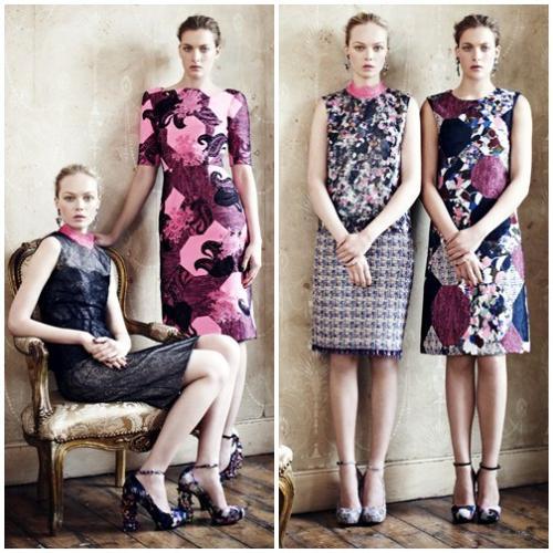 Những chiếc váy hoa tuyệt đỉnh của Erdem Resort