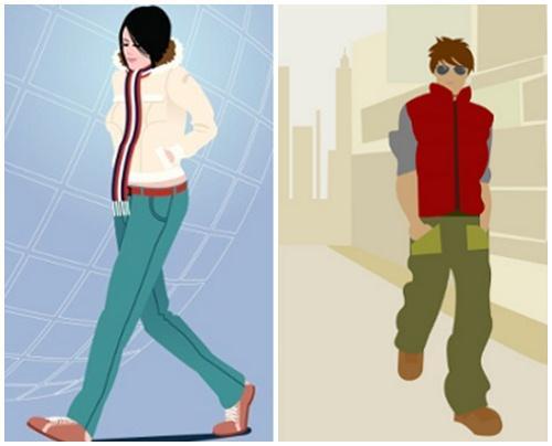 Những người đi bộ với tốc độ chậm, dáng vẻ nhàn nhã, luôn bước đi như kiểu thể họ đang đi dạo cũng phần nào nói lên họ là người bình tĩnh, không nóng vội (Ảnh minh họa)