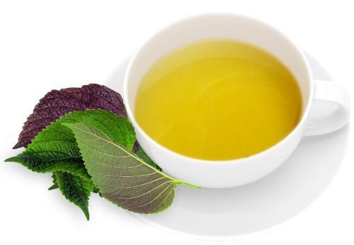 Uống nước tía tô giúp tẩy tế bào chết, cải thiện da khô