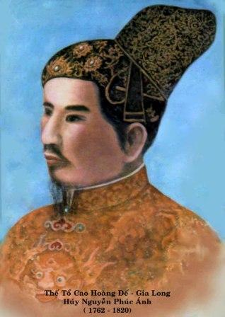 Vua Gia Long - Ảnh minh họa