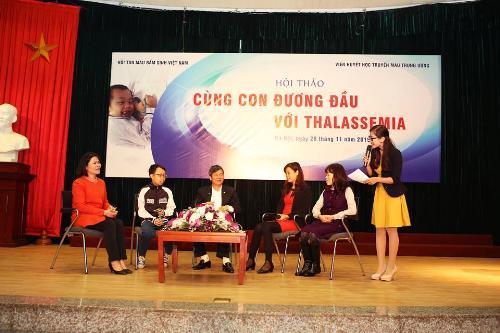 cung con duong dau voi thalassaemia 301532109 Cách cùng con đương đầu với Thalassemia