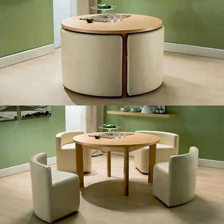 Bộ bàn ghế xếp gọn siêu tiết kiệm diện tích