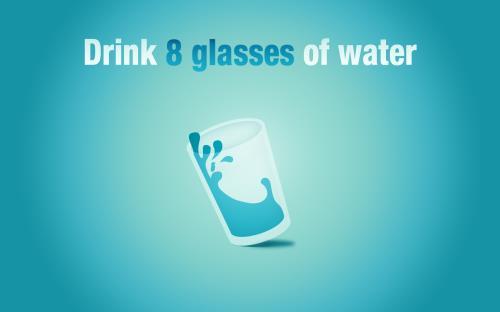 uống 8 ly nước mỗi ngày không thực sự cần thiết