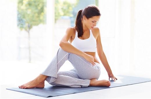 Tap yoga bi chong mat: Chuyen khong cua rieng ai