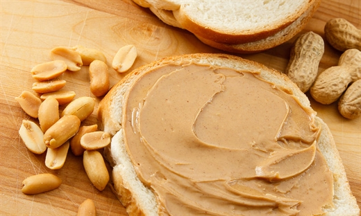 Image result for bánh mì bơ đậu phộng