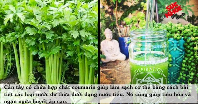 10 thuc pham va do uong chua khoi PHU NE