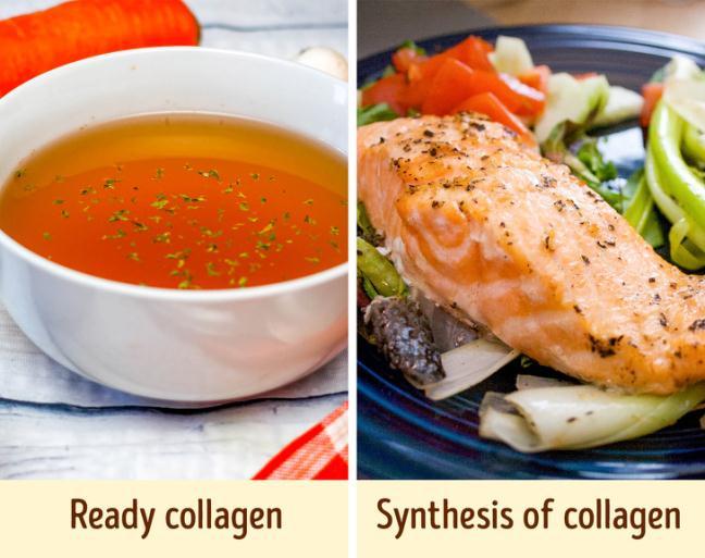 10 loai thuc pham giau collagen co the lam cham lao hoa da