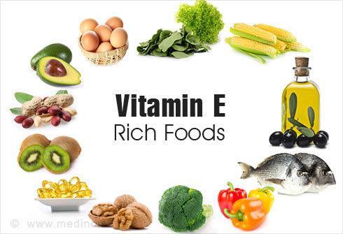 Khoe, dep voi vitamin E