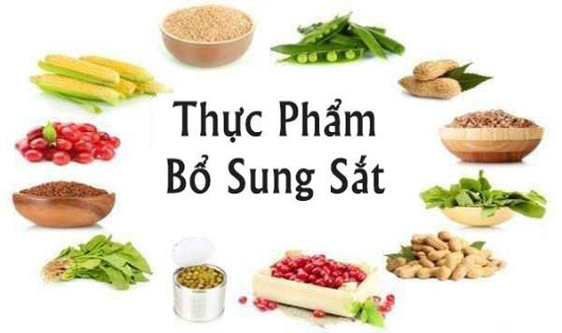 Khong nen de co the thieu sat