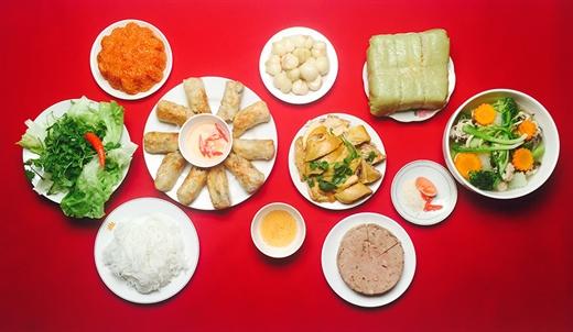Lam the nao de an uong 'tet ga' ma van giu duoc voc dang trong dip Tet?