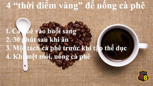 "Nhung cach bien ca phe thanh thuc uong ""sieu"" bo duong giup co the khoe manh hon"