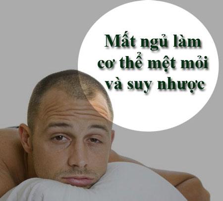 Ngu it hon 6 tieng moi ngay dang tan pha co the ban nhu the nao?