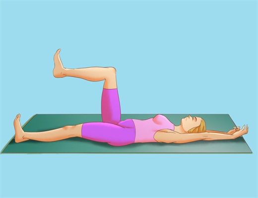 Nhanh chong lay lai binh tinh voi 5 tu the Yoga don gian