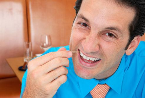 xỉa răng