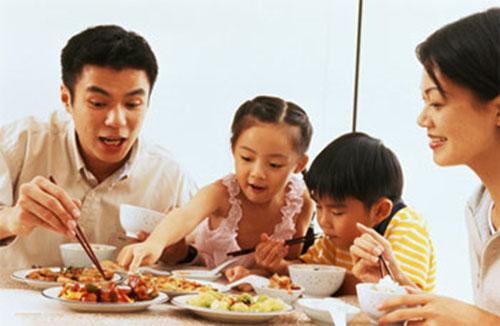 Image result for bữa tối cho gia đình