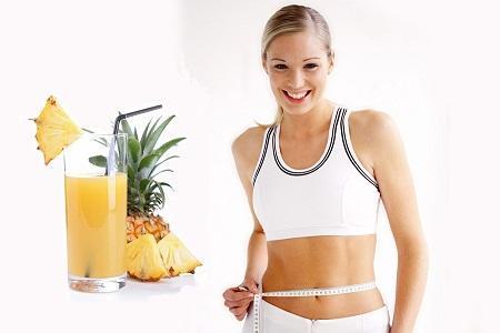 Image result for Dứa giúp cho giảm cân